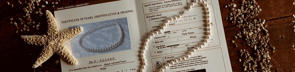 Certificate of Pearl Identification and Grading