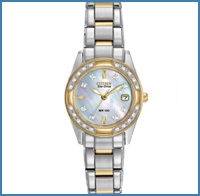 Ladies' silver watch